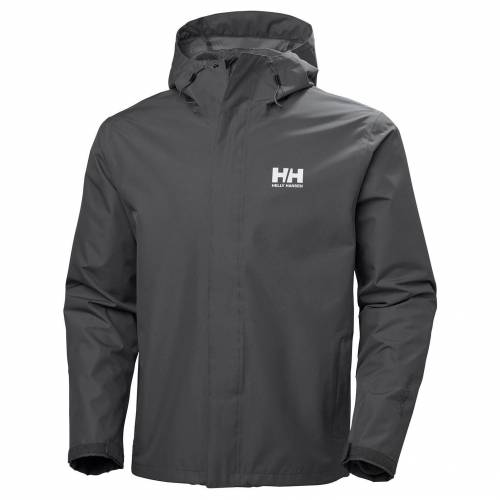 Helly Hansen Mens Seven J Rain Winterjacke Grey L