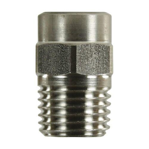Tecomec Keramikhochdruckdüse, 1/4 Zoll AG NPT, Aufprallkraft 100%, max 300 bar, max 125
