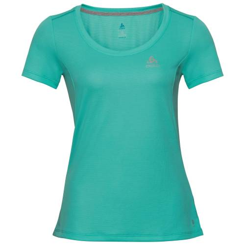 Odlo Damen F-DRY T-Shirt, female, pool green, XS