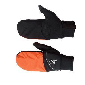 Odlo INTENSITY COVER SAFETY LIGHT Handschuhe, unisex, black - orange clown fish, XXL