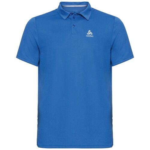 Odlo Herren F-DRY Poloshirt, male, nebulas blue, S