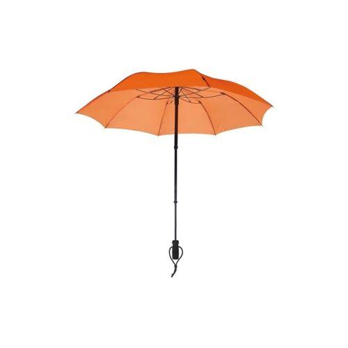 Euroschirm teleScope Handsfree Regenschirm Orange