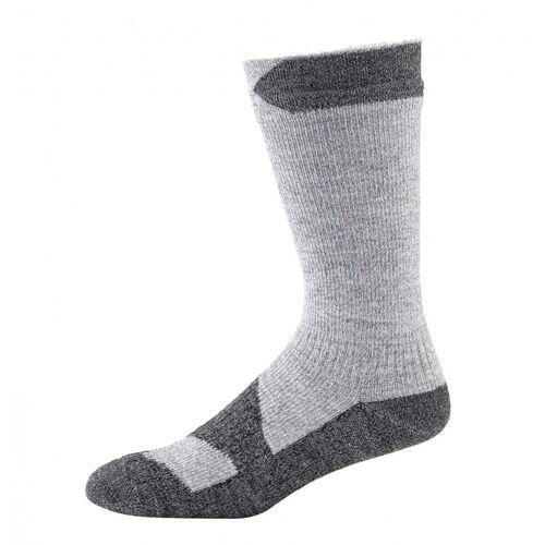 SealSkinz Walking Thin Mid Socke Grau XL