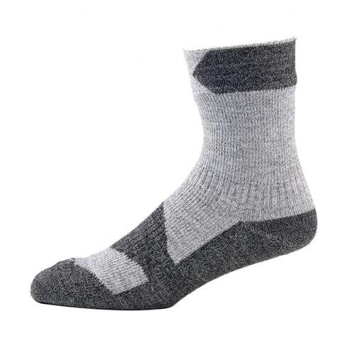 SealSkinz Walking Thin Ankle Socke Grau XL