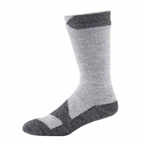 SealSkinz Walking Thin Mid Socke Grau XL