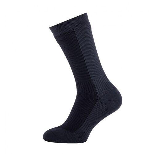 SealSkinz Hiking Mid Mid Socke L Schwarz