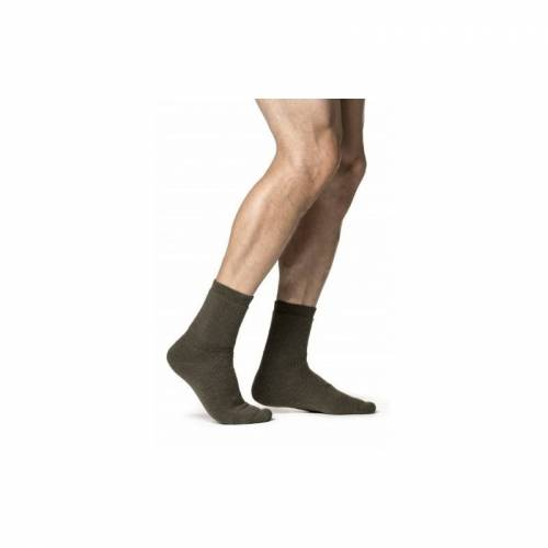 Woolpower Socke 400 36-39 Oliv