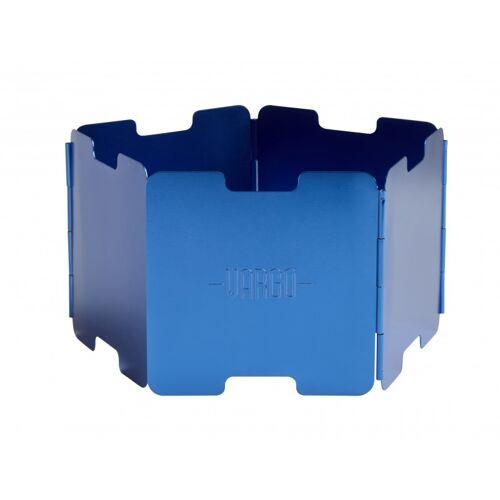 Vargo Windschutz Aluminium Blau