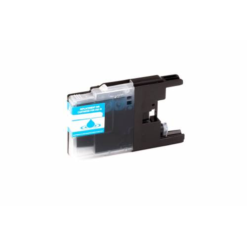 ASC, keinBrotherOriginal Druckerpatrone / Tinte für Brother LC1240C cyan kompatibel (Marke: ASC)