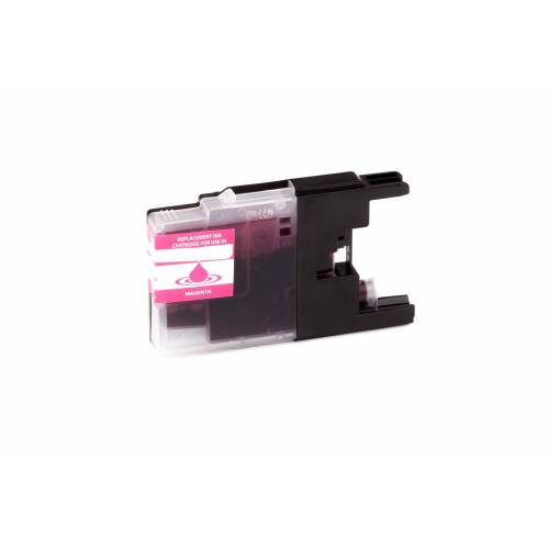 ASC, keinBrotherOriginal Druckerpatrone / Tinte für Brother LC1240Y gelb kompatibel (Marke: ASC)