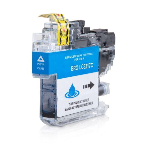 ASC, keinBrotherOriginal Druckerpatrone / Tinte für Brother LC3217C cyan kompatibel (Marke: ASC)