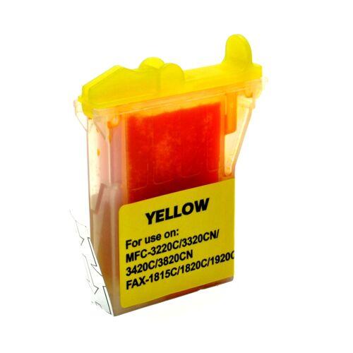 ASC, keinBrotherOriginal Druckerpatrone / Tinte für Brother LC800Y gelb kompatibel (Marke: ASC)