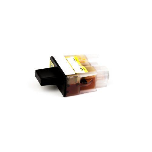 ASC, keinBrotherOriginal Druckerpatrone / Tinte für Brother LC900Y gelb kompatibel (Marke: ASC)