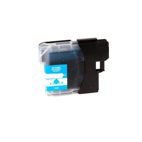 ASC, keinBrotherOriginal Druckerpatrone / Tinte für Brother LC980C cyan kompatibel (Marke: ASC)