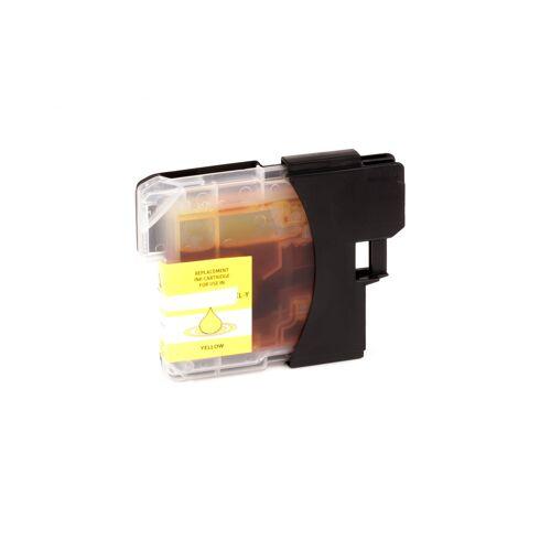 ASC, keinBrotherOriginal Druckerpatrone / Tinte für Brother LC980Y gelb kompatibel (Marke: ASC)