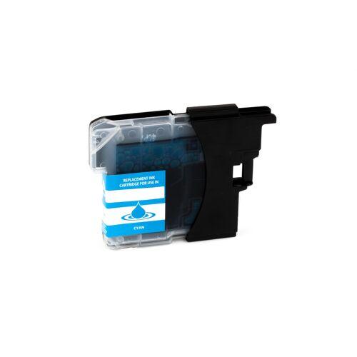 ASC, keinBrotherOriginal Druckerpatrone / Tinte für Brother LC985C cyan kompatibel (Marke: ASC)