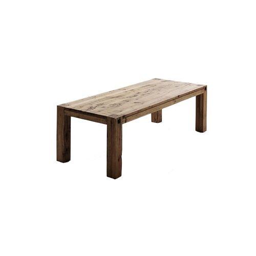 MCA Furniture Esstisch Leeds Eiche massiv bassano lackiert / 180x90 cm