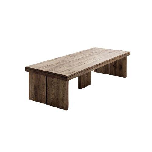 MCA Furniture Esstisch Dublin Eiche massiv bassano lackiert / 180x90 cm
