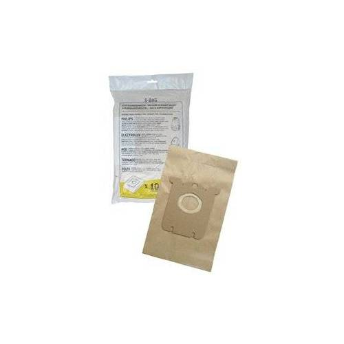 Philips S-Bag Staubsaugerbeutel (10 Beutel, 1 Filter)