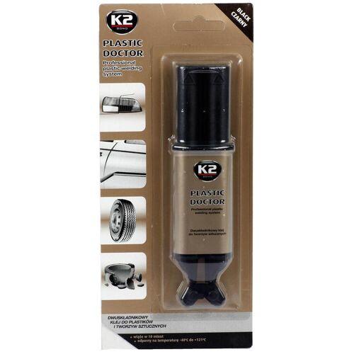 K2 2k Kunststoff Kleber 2 Komponenten Kleber Black