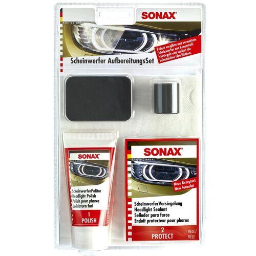 Sonax Scheinwerferaufbereitungsset Politur Aufbereitung Scheinwerfer