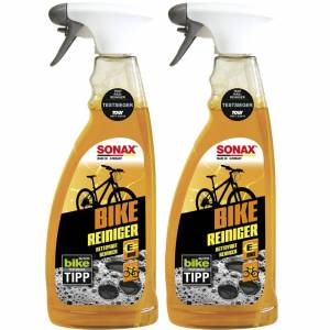 SONAX 3 Teiliges Sonax Bike Reinigungs Set Fahrrad Reiniger+kettenspray Pflegetuch Sonax Artikelnr.: 08524000 Artikelnr.: 08762000,artikelnr.: 08520000