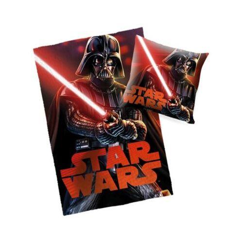 Starwars Star Wars Decke & Kissen Set