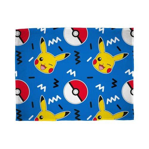 Pokemon Kuscheldecke Pokémon, 100 x 150 cm
