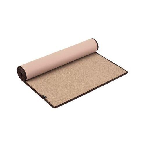 Yogistar Fitnessmatten Yogamatte Kork beige