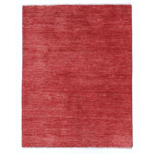 Nain Trading Handgeknüpfter Teppich Perser Gabbeh Kashkuli 132x99 Orange/Rot (Wolle, Persien/Iran)