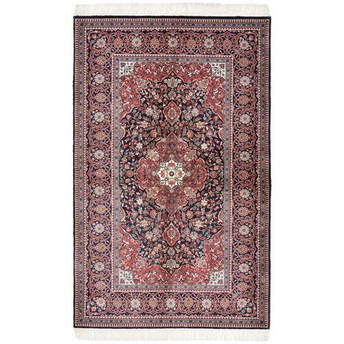 Nain Trading Orientalischer China Keshan Seide Teppich 217x135 Dunkelbraun/Rot (China, Seide, Handgeknüpft)