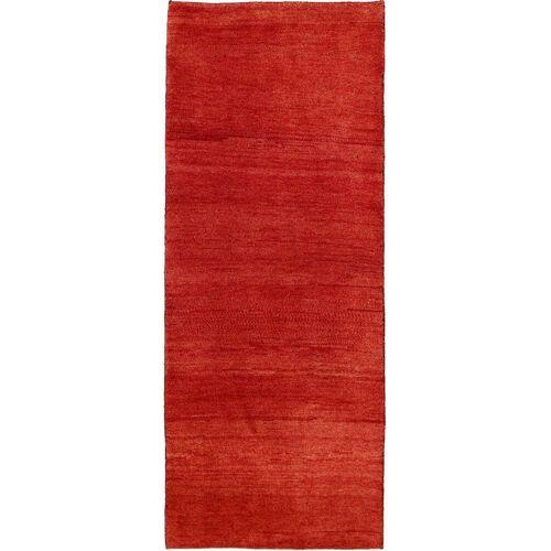 Nain Trading Handgeknüpfter Teppich Perser Gabbeh Kashkuli 201x81 Rost (Wolle, Persien/Iran)