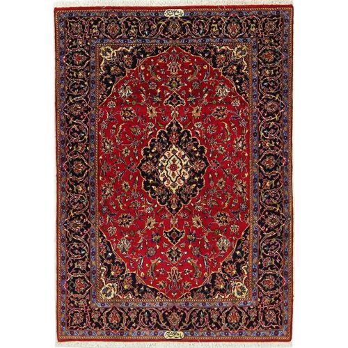 Nain Trading Keshan Shadsar 176x117 Braun/Rost (Wolle mit Seide, Persien/Iran, Handgeknüpft)