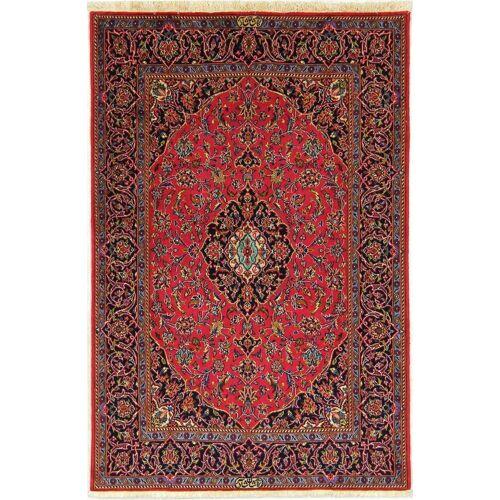 Nain Trading Handgeknüpfter Teppich Keshan Shadsar 171x113 Braun/Rost (Wolle mit Seide, Persien/Iran)