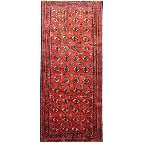 Nain Trading Perserteppich Belutsch 275x120 Läufer Rot/Lila (Handgeknüpft, Persien/Iran, Wolle)