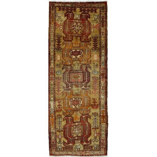 Nain Trading Handgeknüpfter Teppich Ardebil 300x114 Läufer Braun (Wolle, Persien/Iran)