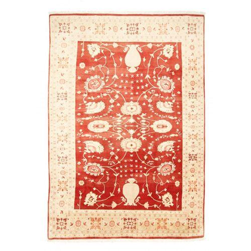 Nain Trading Handgeknüpfter Teppich Indo Ardebil 335x230 Orange/Rosa (Wolle, Indien)