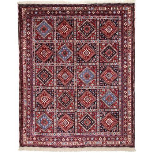 Nain Trading Handgeknüpfter Teppich Yalameh 319x254 Rot/Rosa (Wolle, Persien/Iran)