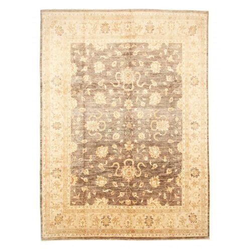 Nain Trading Handgeknüpfter Teppich Ziegler Farahan 358x269 Gelb/Rosa (Wolle, Pakistan)