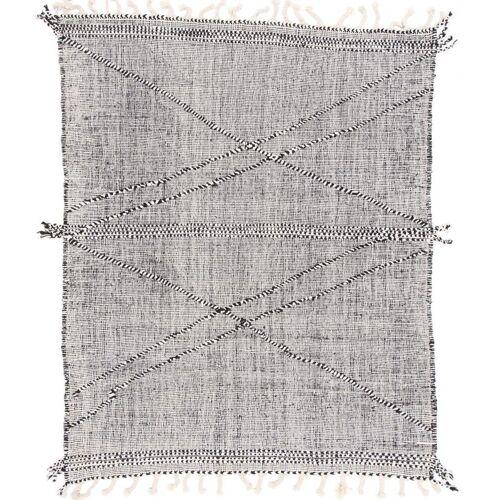 Nain Trading Kelim Modern 203x164 Grau/Beige (Wolle, Moldawien, Handgewebt)