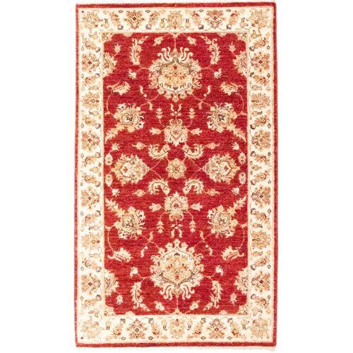 Nain Trading Handgeknüpfter Teppich Ziegler Farahan 156x89 Beige/Rost (Wolle, Pakistan)