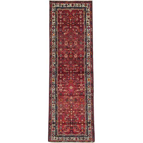 Nain Trading Handgeknüpfter Teppich Ardebil 290x93 Läufer Rot/Rost (Wolle, Persien/Iran)