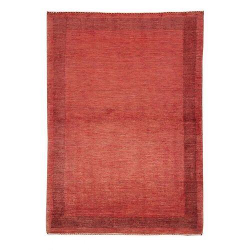 Nain Trading Handgeknüpfter Teppich Perser Gabbeh Kashkuli 161x116 Orange/Rot (Wolle, Persien/Iran)