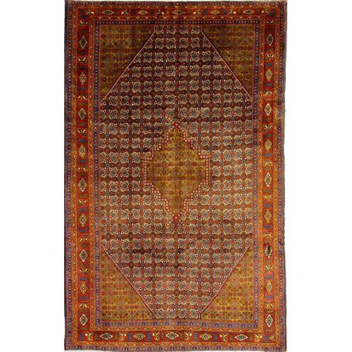 Nain Trading Handgeknüpfter Teppich Ardebil 280x175 Braun/Orange (Wolle, Persien/Iran)