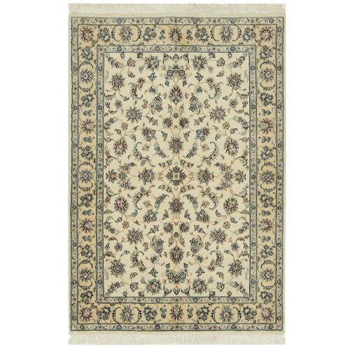 Nain Trading Handgeknüpfter Teppich Nain 9La 175x120 Läufer Beige/Dunkelbraun (Wolle, Persien/Iran)