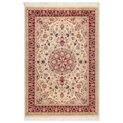 Nain Trading Echter Teppich Pakistan 188x120 Rost/Rosa (Wolle, Pakistan, Handgeknüpft)
