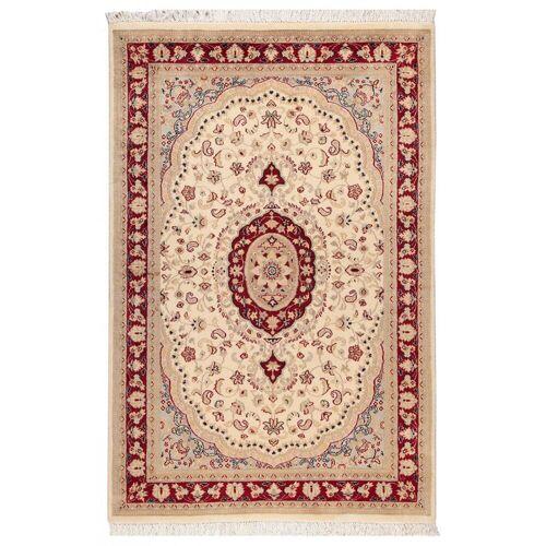 Nain Trading Echter Teppich Pakistan 188x121 Beige/Rosa (Wolle, Pakistan, Handgeknüpft)