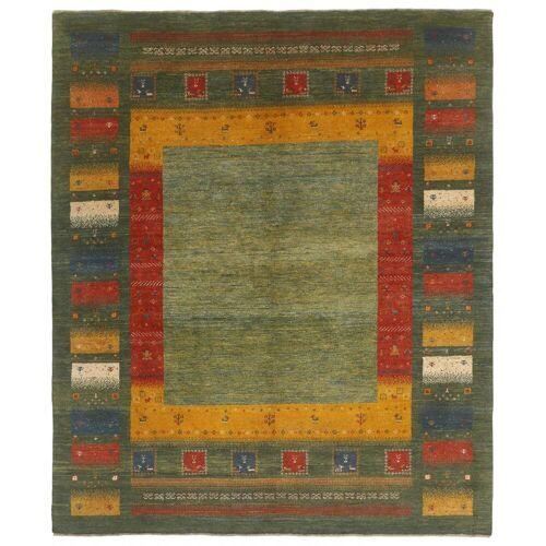 Nain Trading Handgeknüpfter Teppich Perser Gabbeh Kashkuli 246x200 Braun/Rost (Wolle, Persien/Iran)