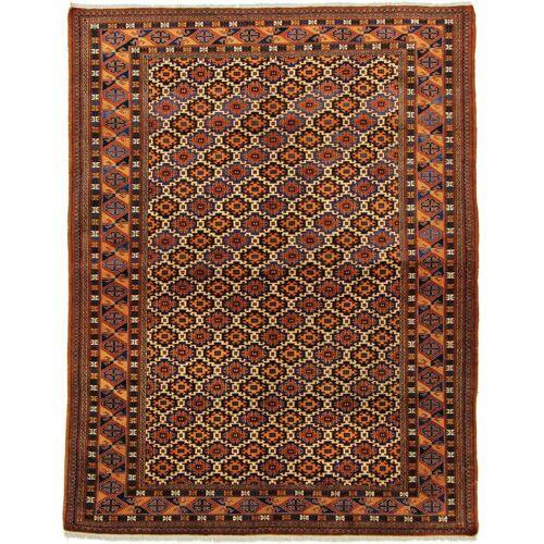 Nain Trading Persischer Shirwan Teppich 201x155 Braun/Rost (Wolle, Persien/Iran, Handgeknüpft)
