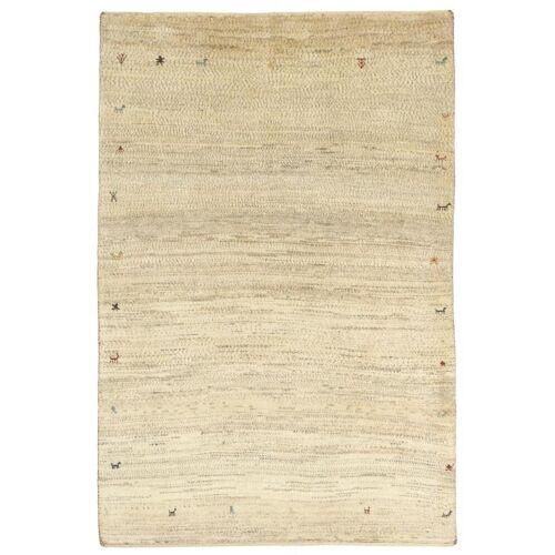Nain Trading Handgeknüpfter Teppich Perser Gabbeh Kashkuli 149x99 Beige (Wolle, Persien/Iran)